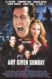 Poster for Any Given Sunday (1999).