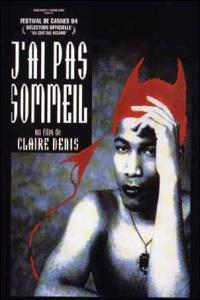 Poster for J'ai pas sommeil (1994).