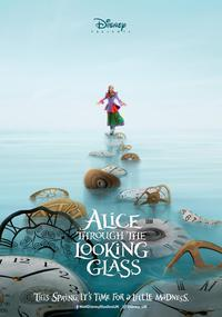 Poster for Alice Through the Looking Glass (2016).